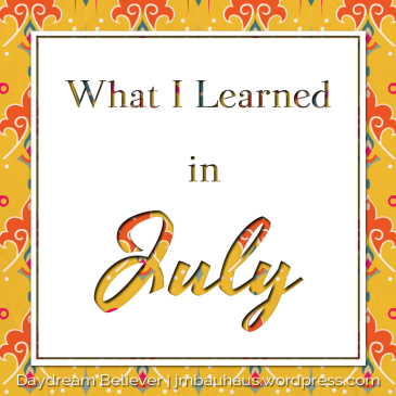 what-i-learned-in-July