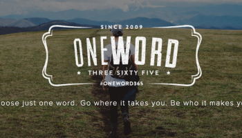 leaning into god a oneword365 review